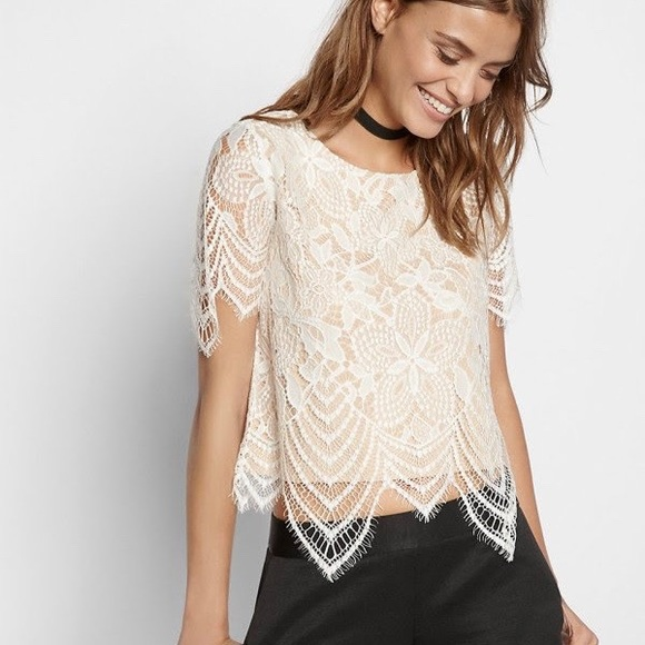 a8974402f0f Express Tops | Nwt Lace Top | Poshmark